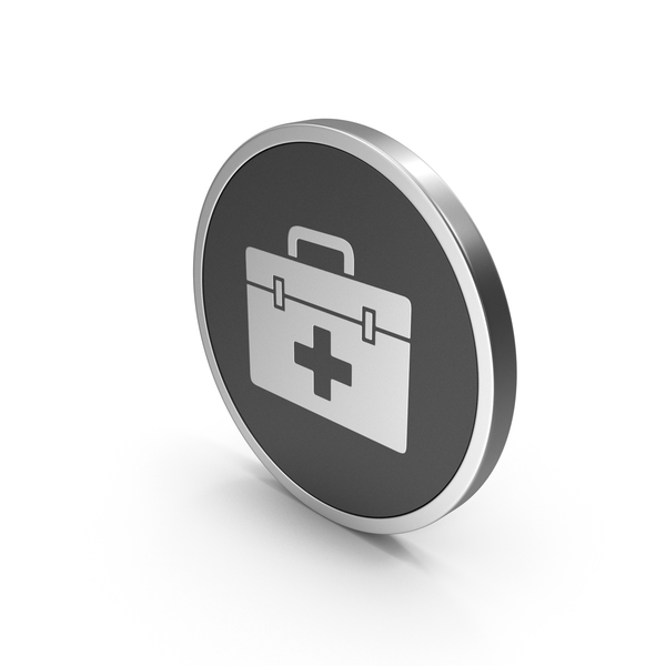 Silver Icon Medical Kit PNG & PSD Images