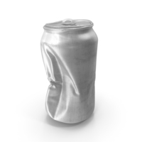 Crushed Aluminum Can PNG & PSD Images
