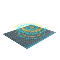 Spiral Hologram PNG & PSD Images