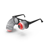Springy Pop Out Eye Glasses PNG & PSD Images