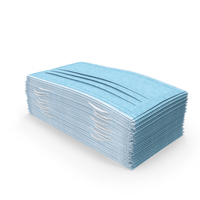 Stack of Medical Face Mask PNG & PSD Images