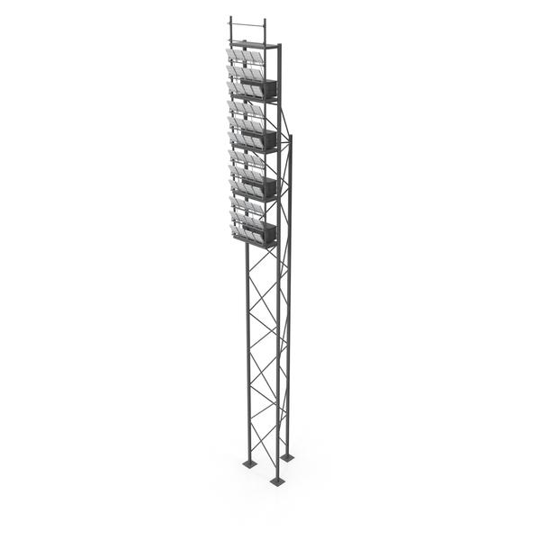 Stadium Lighting Pole PNG & PSD Images