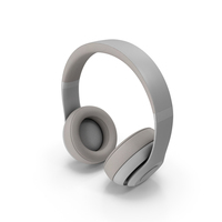 Headphones White PNG & PSD Images
