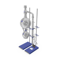 Steam Distillation Laboratory Kit PNG & PSD Images
