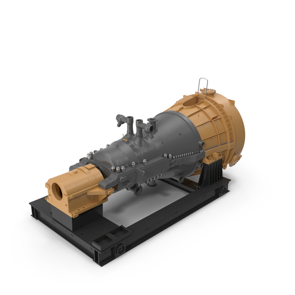Steam Turbine Generic PNG & PSD Images