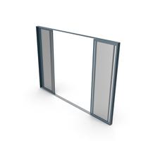 Sliding Balcony Window and Door Open PNG & PSD Images