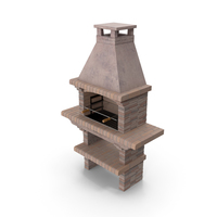 Stone Masonry Barbecue PNG & PSD Images