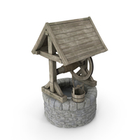 Stone Water Well PNG & PSD Images