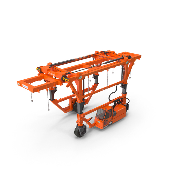 Straddle Carrier Combilift SC New PNG & PSD Images