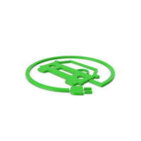 Green Symbol Electric Vehicle Charging PNG & PSD Images