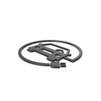 Black Symbol Electric Vehicle Charging PNG & PSD Images