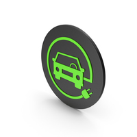 Electric Vehicle Charging Icon PNG & PSD Images