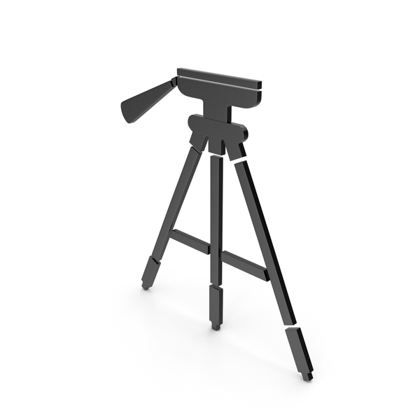 Tripod Black Icon PNG & PSD Images