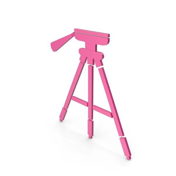 Tripod Pink Icon PNG & PSD Images