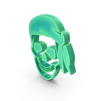 Skull Design Radium PNG & PSD Images