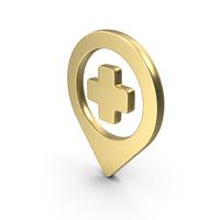 Logo Pin Gold PNG & PSD Images