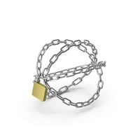 Stylised Chains PNG & PSD Images
