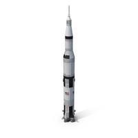 Super Heavy Saturn V Rocket PNG & PSD Images