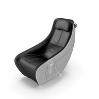 Synca Wellness Massage Chair Black PNG & PSD Images