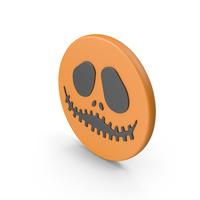Halloween Pumpkin Face Symbol PNG & PSD Images