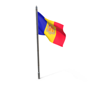 Andorra Flag PNG & PSD Images