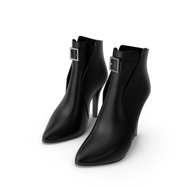 Leather Boots Women PNG & PSD Images