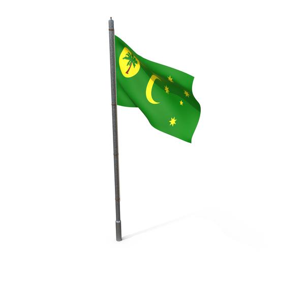 Cocos (Keeling) Islands Flag PNG & PSD Images