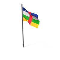 Central African Republic Flag PNG & PSD Images