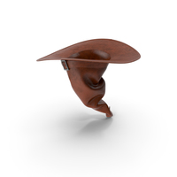Witch Hat Brown PNG & PSD Images
