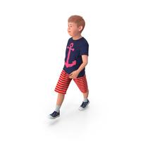 Teenage Boy Walking Pose PNG & PSD Images