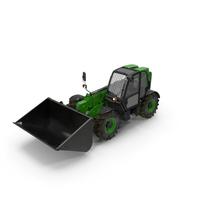 Telehandler Forklift Scoop Bucket Generic PNG & PSD Images