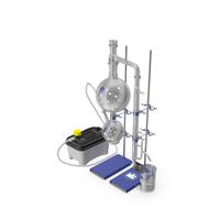 Terpene Distillation Laboratory Set PNG & PSD Images