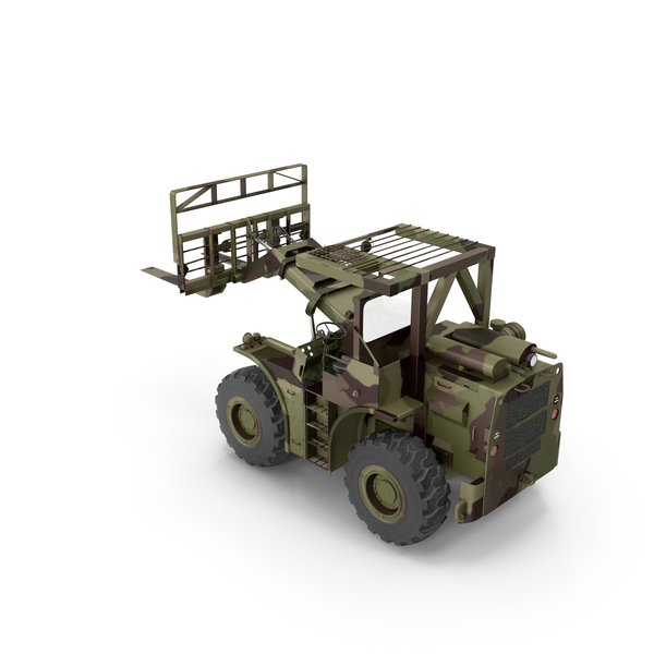 Terrain Military Forklift Camo PNG & PSD Images