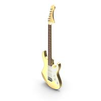 Electric Guitar Golden PNG & PSD Images