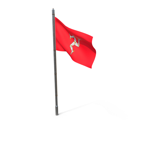 Isle of Man Flag PNG & PSD Images