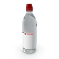 Water Plastic Bottle 750ml PNG & PSD Images