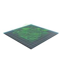 Waves Hologram PNG & PSD Images