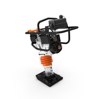 WEN 56040 Jumping Jack Tamping Rammer Clean PNG & PSD Images