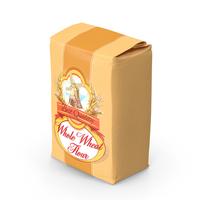 Wheat Flour Bag 5lb PNG & PSD Images