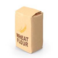 Wheat Flour Brown Paper Bag 2lb PNG & PSD Images
