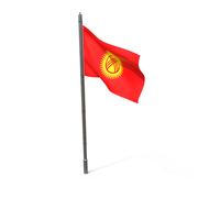 Kyrgyzstan Flag PNG & PSD Images