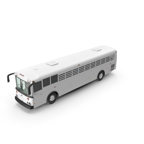 Thomas Saf T Liner Prison Transport Bus PNG & PSD Images
