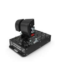 Thrustmaster Hotas Warthog Dual Throttles PNG & PSD Images