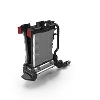 Thule EasyFold XT2 Bike Racks Folded PNG & PSD Images