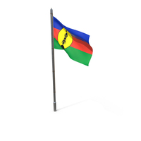 New Caledonia Flag PNG & PSD Images