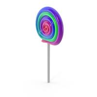 Spiral Lollipop PNG & PSD Images
