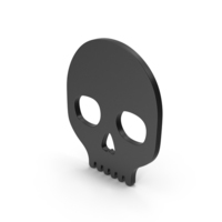 Symbol Skull Black PNG & PSD Images