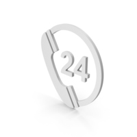 Symbol 24 Hours Phone Service PNG & PSD Images