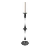 Candlestick with Candle PNG & PSD Images