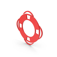 Symbol Life Saver Red PNG & PSD Images